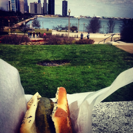 Chicago style in Grant Park